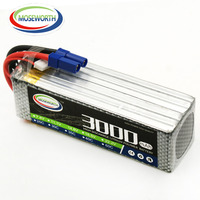 Lipo Battery 6S 22.2V 3000mAh 60C For RC Helicopter Airplane Quadcopter Drone Car Boat Model Remote Control Toys Lithium Battery
