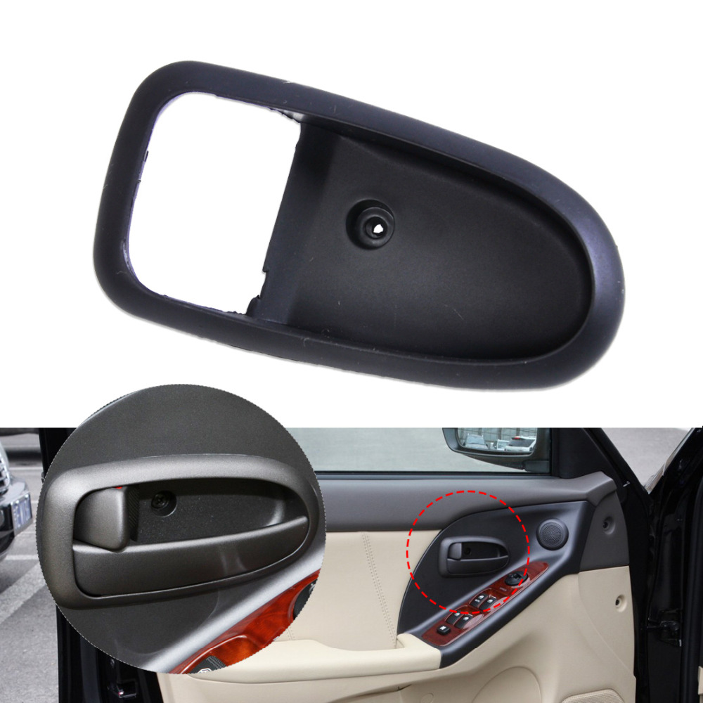 beler left interior inside door handle cover trim bezel housing for hyundai elantra 2001 2002 2003 2004 2005 2006 housing housing cover aliexpress aliexpress