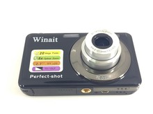 Winait Top Sale Compact Digital Camera DC-V600 8x Digital Zoom 2.7″ TFT LCD Display 720P HD Pocket Camera SD Card Slot