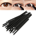 Popular 50Pcs Cosmetic Disposable Eyeliner Liquid Wand Applicator Cosmetic Makeup Tool Brushes Pens 67R1