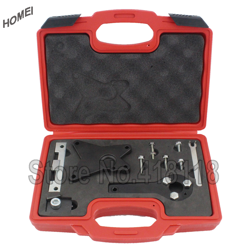 Engine Timing Tools Positioning Camshafts Setting Locking Tool Set 1.2/1.4WT for FIAT/OPEL wholesale 2 2 2 5 dci engine camshaft timing tool crankshaft alignment locking set for renault auto repair tools 2pcs lot