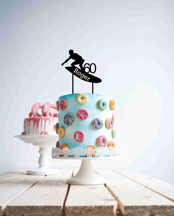 PERSONALISED PUSH BIKE ANY NAME//AGE BIRTHDAY CAKE TOPPER