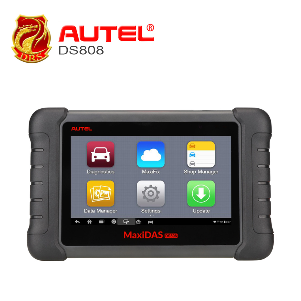 Autel MaxiDAS DS808 OBDII Diagnostic Tool OBD2 Scanner Automotive Tools All System Key programming Update from