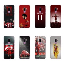 Football player Mohamed Salah King 11 Soft TPU Silicone Cover case For Samsung Galaxy S6 S7 EDG S8 S9 Plus A7 A8 2018 NOTE9