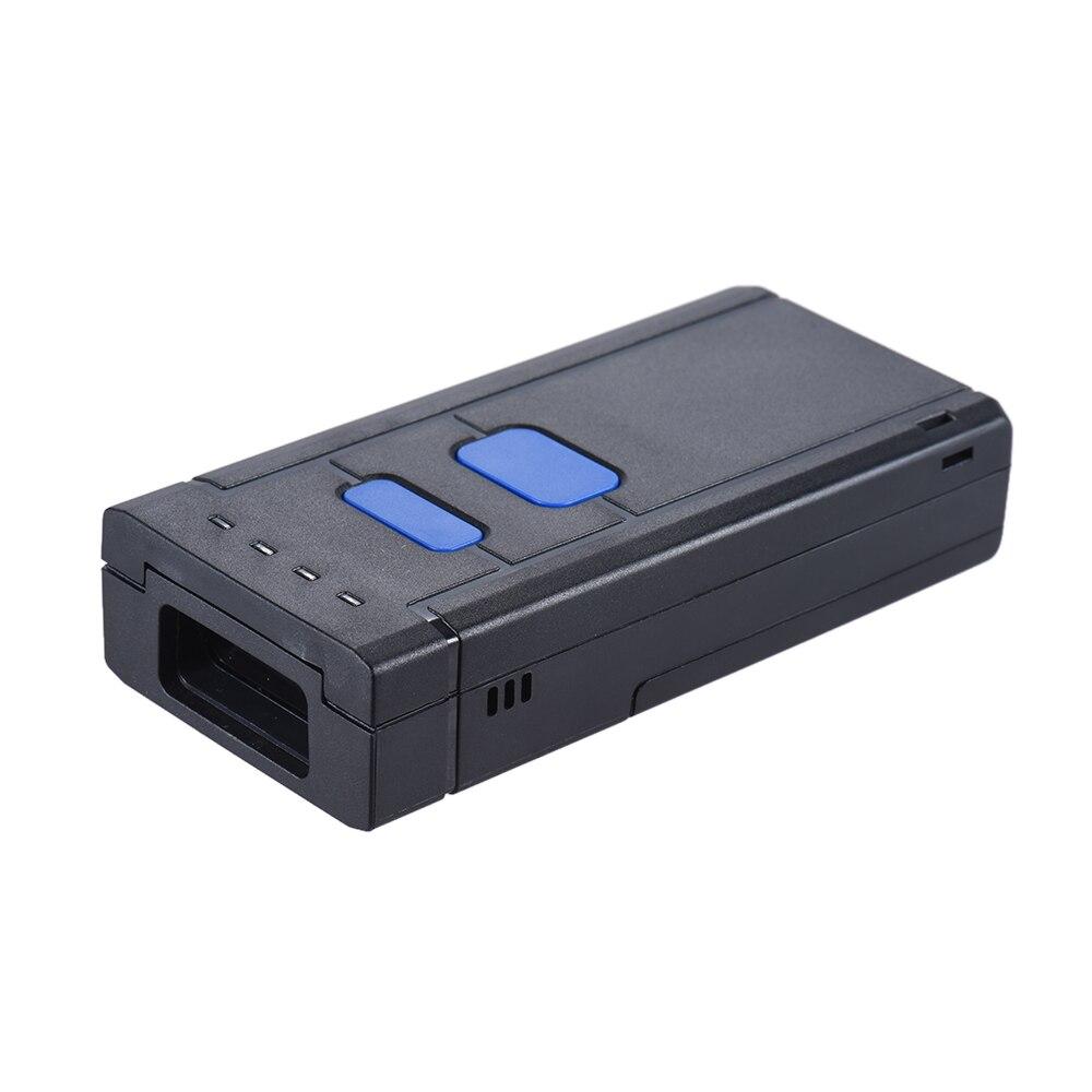 Красный свет 1D Беспроводной Bluetooth сканер штрих-кода Flim Портативный сканер для Windows для IOS ОС Android для супермаркета склада