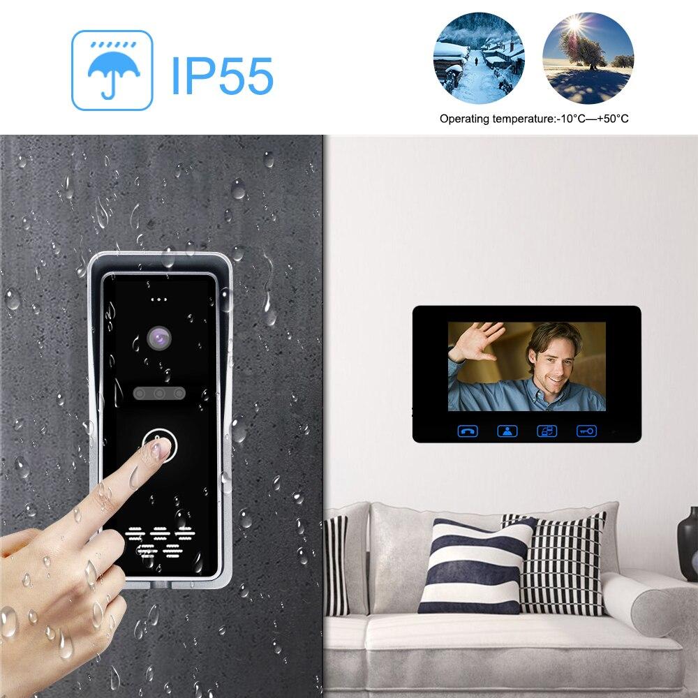 Teléfono con cable de la puerta de vídeo 7