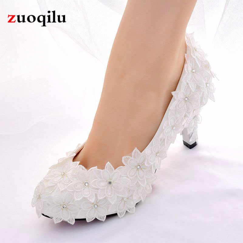 4d110f17 Blanco, zapatos de boda, zapatos de novia de cristal, zapatos de tacón alto