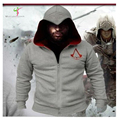 2017 Spring New Fashion Autumn Winter Assassins Creed Hoodie Sweatshirt Chadal Hombre Cosplay Costumes Cool Zipper Hoodies Men