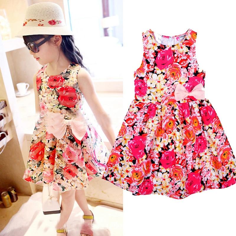 d3344cc9e Summer Kids Designer New 2016 Dresses Printing style Dress ...