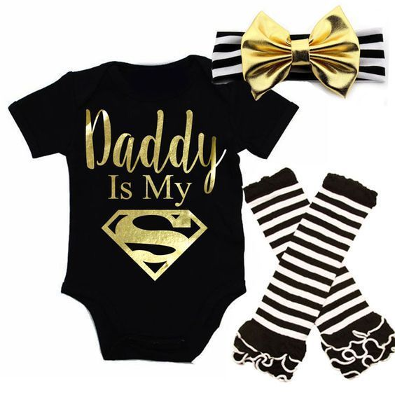 Volhardend Korte Mouw Top Bodysuits Been Warmer Boog Hoofdband 3 Stks Kleding Outfits Set Pasgeboren Baby Jongen Meisje Kleding Set Superieure Materialen