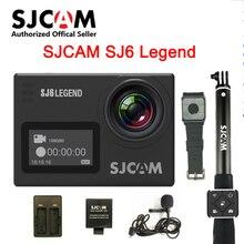 In Stock! SJCAM SJ6 Legend 2' Touch Screen Remote Action Helmet Sports DV Camera Waterproof 4K 24FPS NTK96660 RAW w/Front Screen