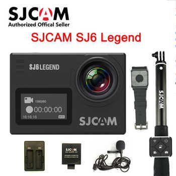 SJCAM SJ6 Legend 2\' Touch Screen Remote Action Helmet Sports DV Camera Waterproof 4K 24FPS NTK96660 RAW w/Front Screen - DISCOUNT ITEM  44 OFF Consumer Electronics