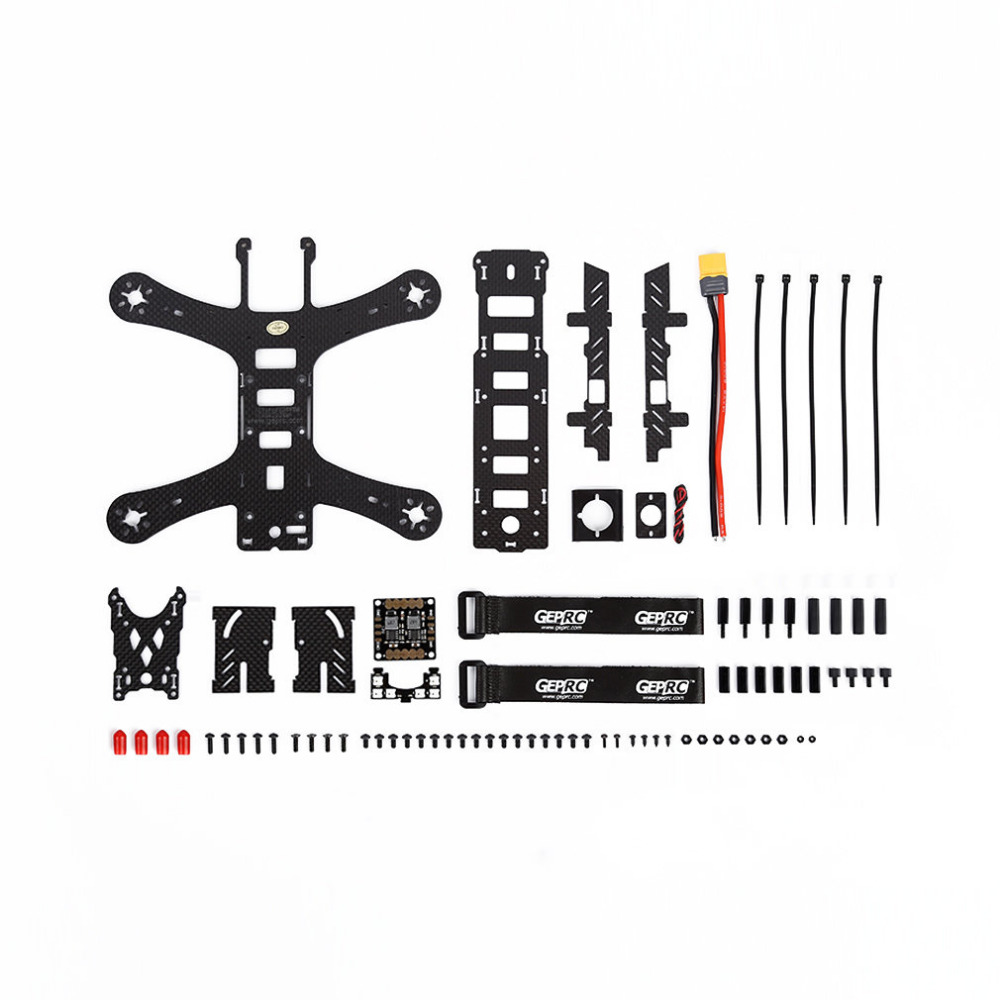 3K high strength carbon board Hottest 210mm 4-Axle 3K Full Carbon Fiber Frame Bracket RC Airplane For GEP210 2017 hot selling hight quality newest 190mm 4axle 3k carbon fiber frame bracket rc helicopter for gep zx5