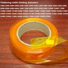1 kg manga termoencolhível tubo de embalagem do psiquiatra DO PVC da bateria de Lítio da bateria DIY embalagem substituição filme isolante manga