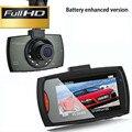 """HD 1080 P 2.4 """"LCD Car DVRs Câmera Do Carro G-Sensor Da Câmera Registrator com Suplemento Lâmpada Do Carro DVR Gravador de Visão Noturna Traço Cam"""