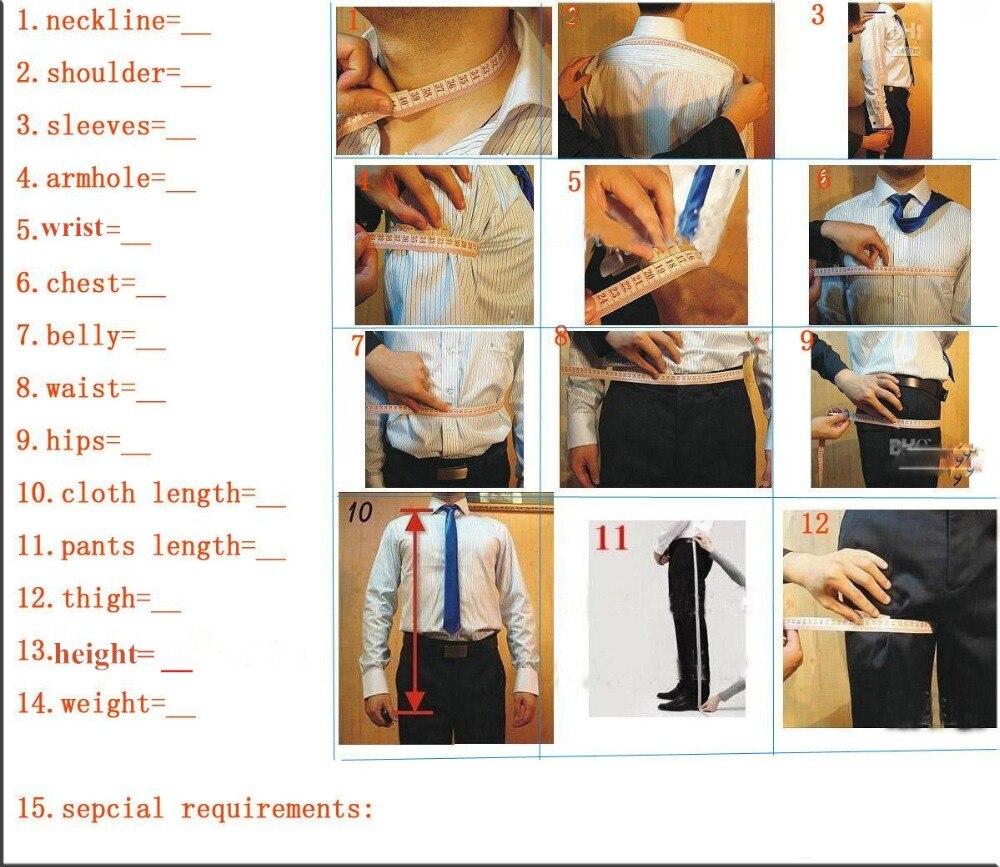 Tailor Made Bourgondië Fluwelen Wijn Rode Mannen Suits Slim Fit Formele Bruidegom Prom Jurk Blazer 3 Stuk Tuxedo Jacket + broek + Vest Terno - 2