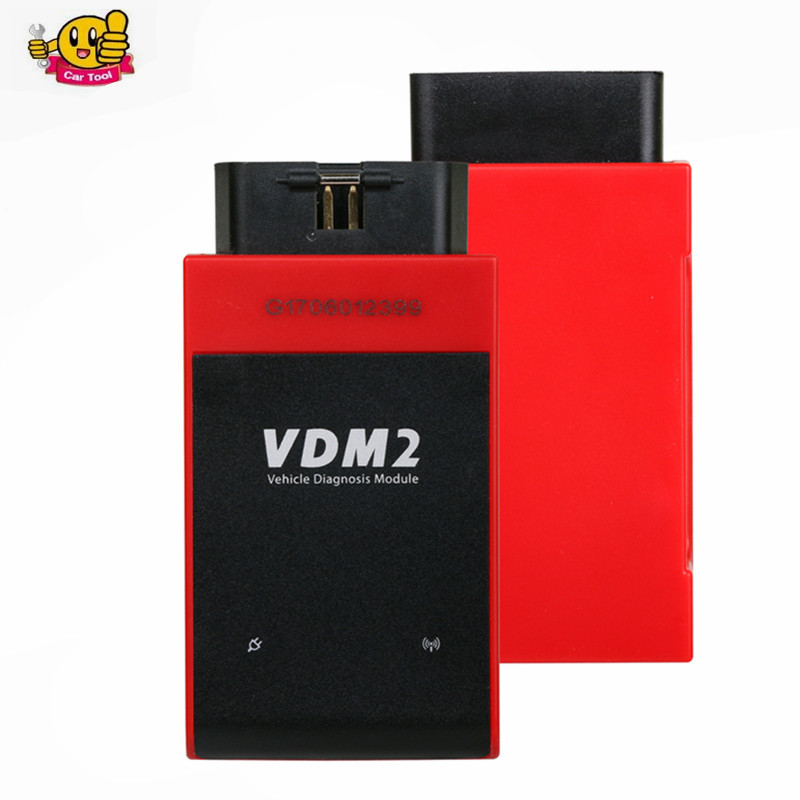 VDM II V5.2 Automative Scanner For Android Phone/Windows PC VDM2 WIFI Full System OBD2 Car Diagnostic Tool Free Shipping