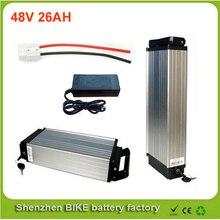 Tylna zębatka rower elektryczny 1000 w 48 v baterii, 48 v 26ah dla 48 v bafang/8fun 1000 w/750 w połowie/centrum silnik napędowy dla panasonic komórek