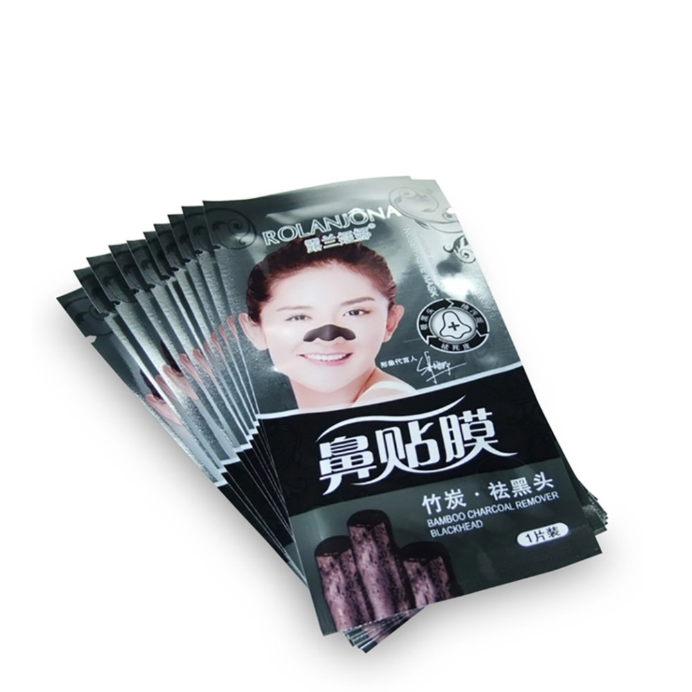 Bamboo Charcoal Mask Pig Nose Pad Suction Blackmask Face Black Head Remove Acne Pores Deep Cleansing Face Masks treatment & mask