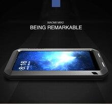 LIEFDE MEI Metalen Waterdichte Case Voor xiaomi mix 6.4 inch Shockproof Cover Xiaomi MIX Case Aluminium Bescherming mix Gorilla glas