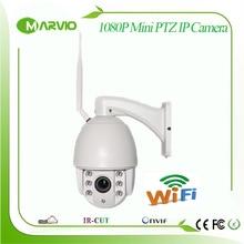New 1080P 2MP FUll HD wifi Mini IP PTZ Network camera wi fi 2 8 12mm