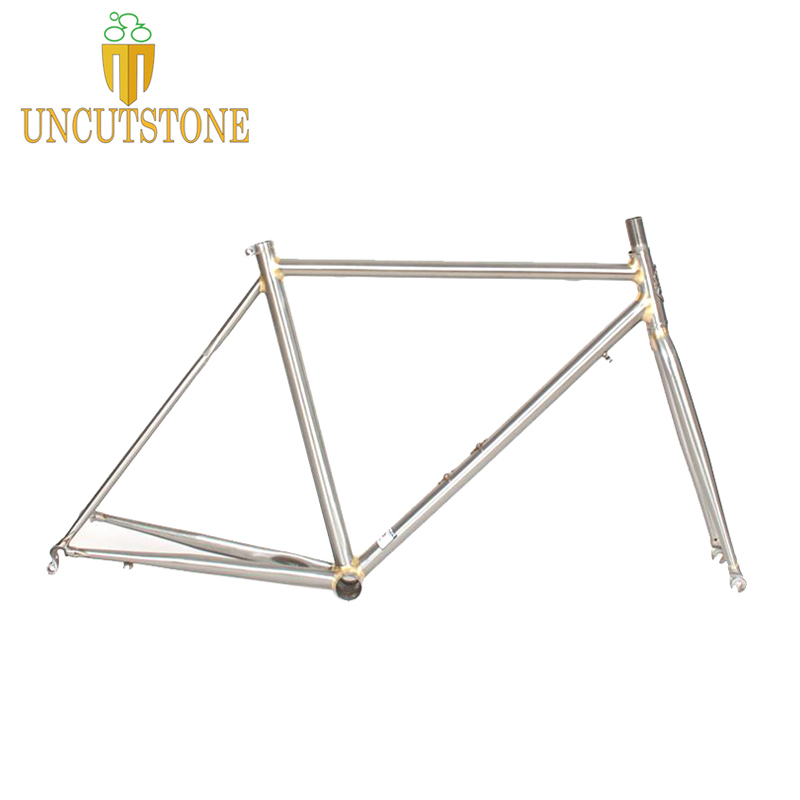 Road Bicycle Frame 4130 Chrome Molybdenum Touring Bike  Frame  49 Cm 50 Cm 52 Cm 54 Cm 58cm Road Bike Frame Customized Color