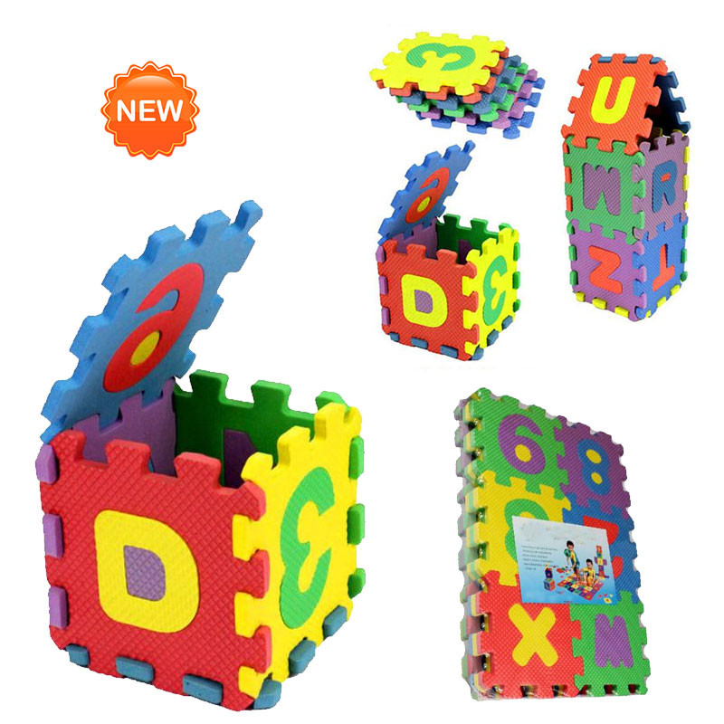 HTB1SnrYaO 1gK0jSZFqq6ApaXXaa 36Pcs ABC flashcards Baby Child Number Alphabet Puzzle Foam Maths Educational Toy Gift whole pack Foam Mat Toy HOOLER