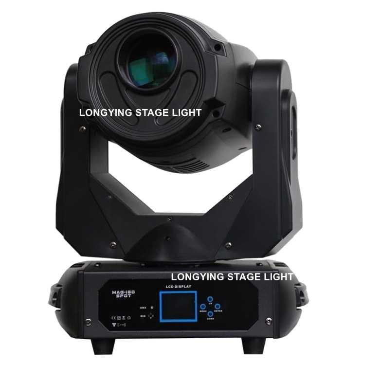 Envío gratis 2 unids/lote nueva Alta Brigh 180 W Led luz de la cabeza Super suave Gobo efecto/3 faceta Prisma /lente de prisma de 5 facetas