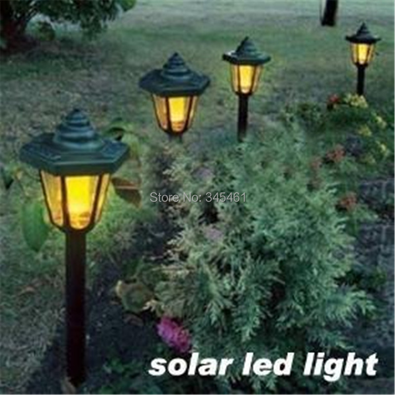 Green Lighting Project  European Hexagon Solar Led Light Solar Garden  Lantern Villa/Lawn Lights ...