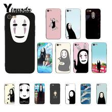 Yinuoda Totoro Spirited Away Ghibli Miyazaki Anime no face DIY Print Phone Case for iPhone 8 7 6 6S 6Plus X XS MAX 5 5S SE XR 10(China)