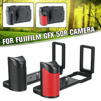 Quick Release L Plate Bracket Hand Grip Handle For Fuji GFX 50R Camera PEIPRO