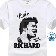 a31b1b796 Little Richard Tutti Frutti T Shirt Rock'N'Roll 3D Print 100% Cotton Short  Sleeve