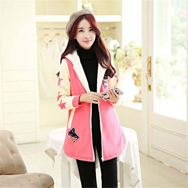 Autumn/Winter Maternity Coat Loose and Comfortable Clothes  Plus Size Quality Workmanship Winter Coat for Pregnant Women TT042