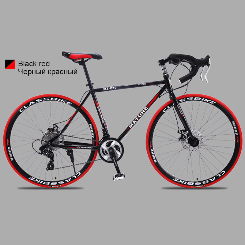 HTB1SnsHa1L2gK0jSZPhq6yhvXXaz 700c aluminum alloy road bike 21 27and30speed road bicycle Two-disc sand road bike Ultra-light bicycle
