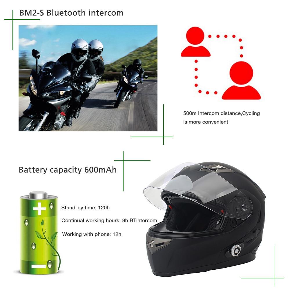 2017 FreedConn Smart Bluetooth мотоциклдік дулыға - Мотоцикл аксессуарлары мен бөлшектер - фото 5