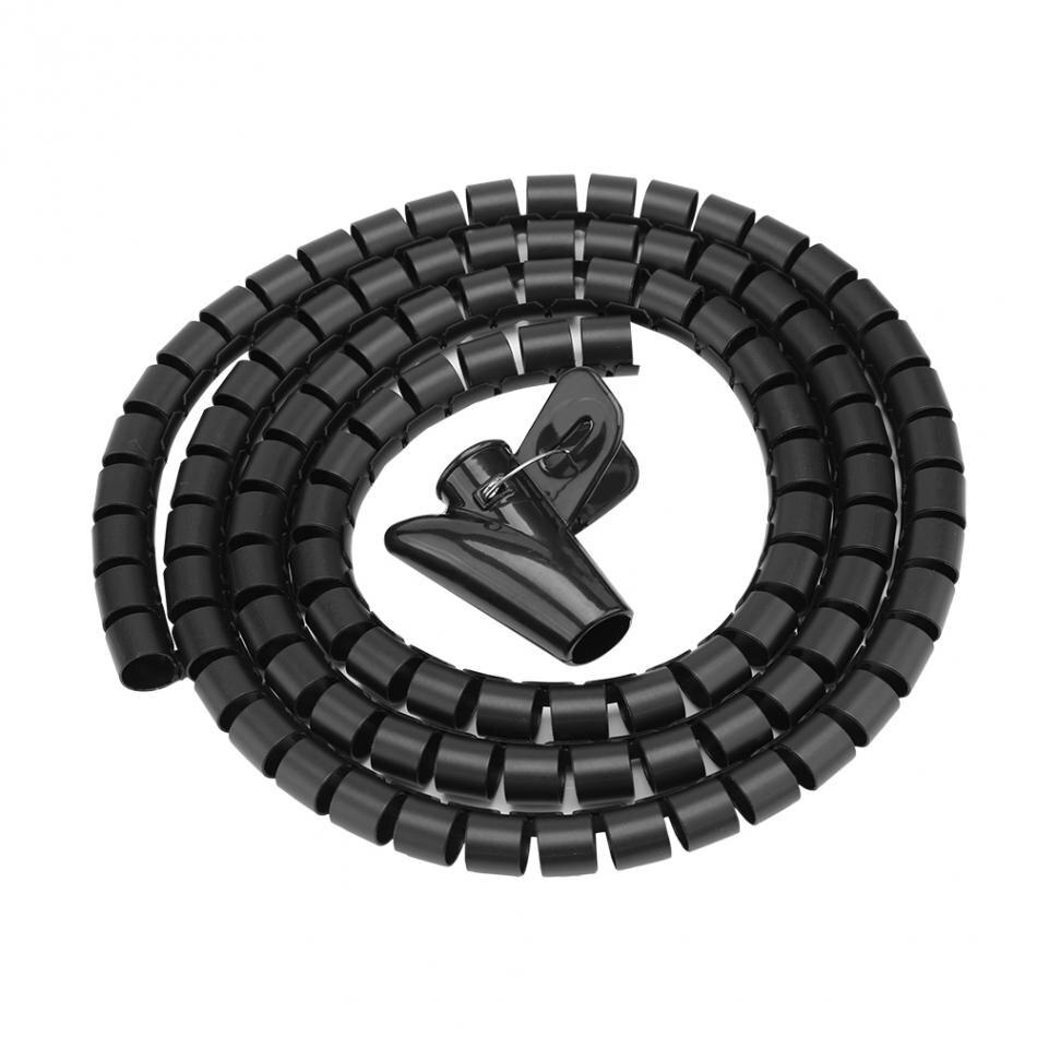 Flexible Spiralschlauch Kabel Organizer Wire Wrap Kabel Protector ...
