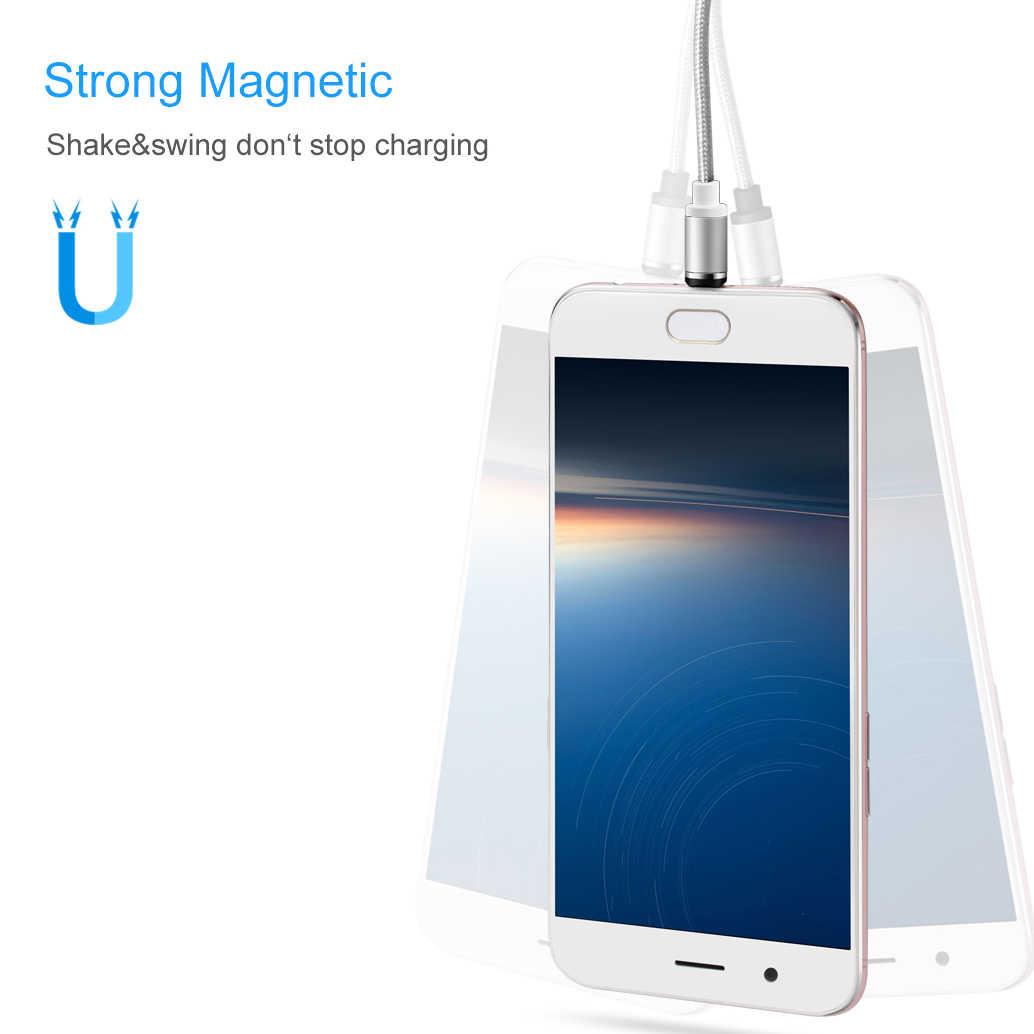 Adaptador USB, USB tipo C magnético Cable de cargador para Xiaomi mi 9T 9 SE mi 8 Lite A2 6X6 mi x 3 2 2S mi Pad 4 Max 3 A1 5X 5S Plus rojo mi nota 7S 7S