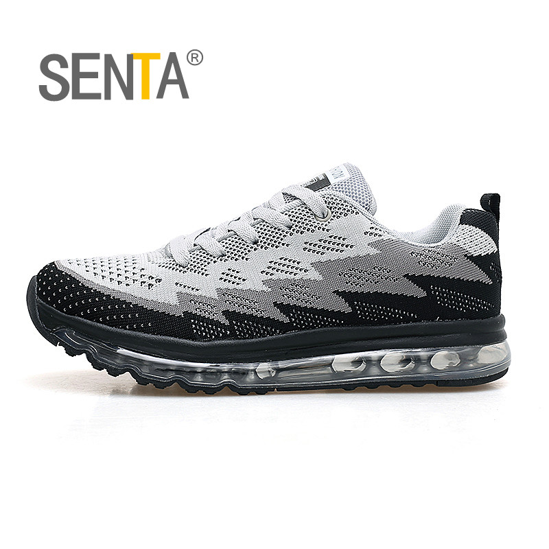 SENTA Air Cushion Running Shoes Men Women 360 Train Walking Outdoor Lace Up Athletic Free Mesh Sport Breathe Jogging Sneaker-in Running Shoes from Sports & Entertainment on AliExpress - 11.11_Double 11_Singles' Day 1