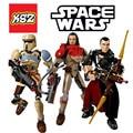 Star Wars Rogue Uno K-2SO Chirrut Imwe Baze Malbus Kylo Ren Daeth Vader Figura juguetes bloques de construcción compatibles Lepin