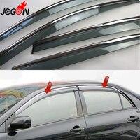For Toyota Corolla E140 E150 Sedan 2007 2010 2012 2012 2013 Window Sun Rain Visors Vent