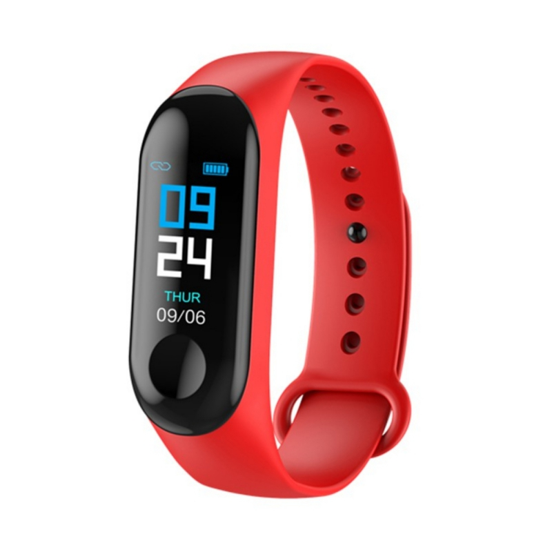 Smart Watch Color Screen USB Charging Wristband Heart Rate Blood Pressure Bluetooth Women Watch Smartband For Android IOS