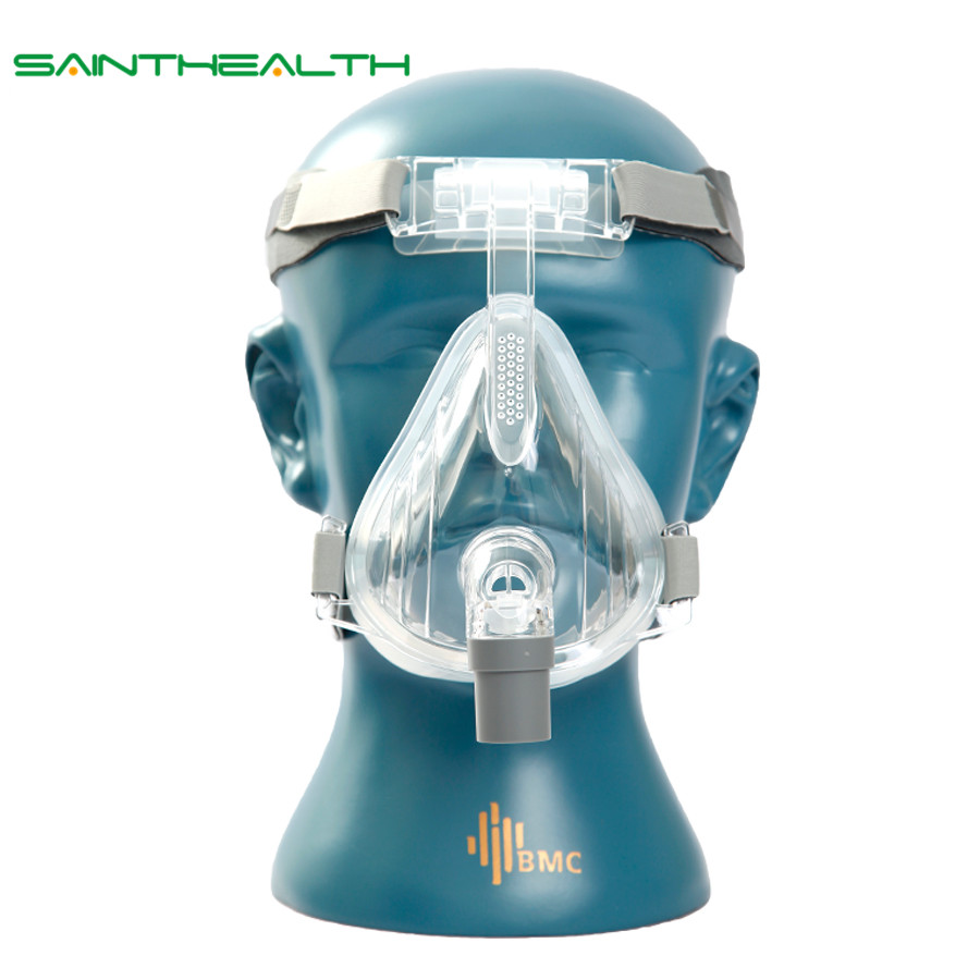 FM2 Full Face Mask 2017 Fashion Type For CPAP BIPAP Machine Size S/M/L Have Special Effects For Anti Snoring And Sleep Aid the new household skin mask is used to mask the oxygen machine s health oxygen machine tube face mask
