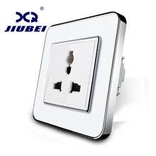 Jiubei стандарт ЕС, белый Цвет, многофункциональный разъем, 3 Шпильки, розетки, sv-c7c1-11