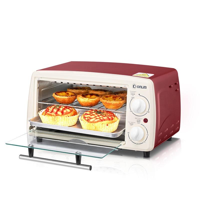 Мини пекарня электрическая печь для пиццы кухонная техника конвекционная печь для выпечки легкая печь для запекания бездымного