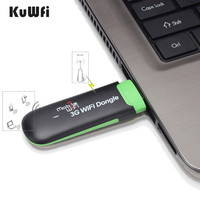 Outdoor Travel Mini USB WIFI Dongle 3G USB wifi Modem 7.2Mbp WCDMA 2100Mhz 3G Wifi Router with SIM Card Slot Mobile Wifi Hotspot