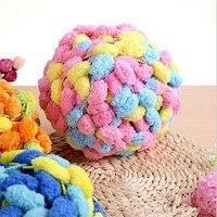 150g /lot Thick crochet line DIY Flourish scarf thread Small ball wool yarn for knitting Pearl cotton yarn for crocheting
