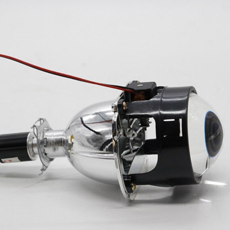 SANVI Bi LED Projector Lens Headlight H1 4800LM 6000K Auto lighting Car styling Auto Lighting Retrofit Kits Car LED Headlight