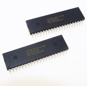 Image 2 - PIC18F4550 I/P PIC18F4550 18F4550 USB Microcontrollers DIP40 IC PIC MCU FLASH 16KX16 NEW