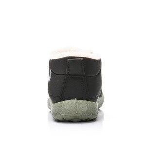 Image 5 - סגנון חדש חורף נשים דירות חם פרווה מגפיים להחליק על נעלי חצאיות נוח פו פרווה נשים נעליים יומיומיות
