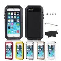 Luxury Shockproof Waterproof Coque Case For Iphone 4 4S 5 5s SE 6 6S Plus Heavy